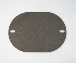 Gasket for Vitreous Enamel Flue - (for our 300mm long pipes - 2 screw holes)