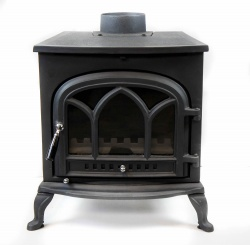 Gothic Arch RF - Cast Iron Multi Fuel and Wood Burning Stove - 9kw max (4.5 - 7.5kw to room)
