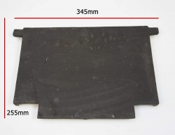 Replacement Back Lining Panel for Harvester Cast Iron Stove - 345mm x 255mm
