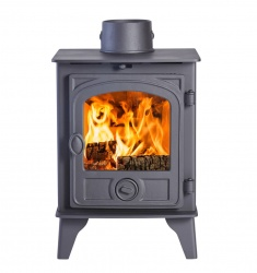 Hunter Hawk 4D Wood Burning Stove - 4.7kw - SALE STOCK