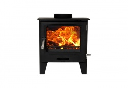 Cast Tec Horizon 5 - 4.9kw nominal Multi Fuel Steel Stove - DEFRA approved