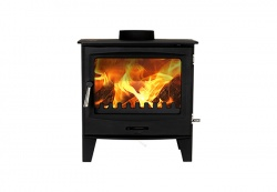Cast Tec Horizon 7 - 7kw nominal Multi Fuel Steel Stove - DEFRA approved