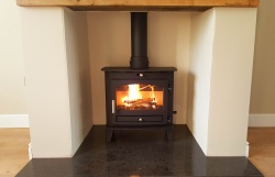 Hunter Avalon Slimline 5 Multifuel Stove - DEFRA approved