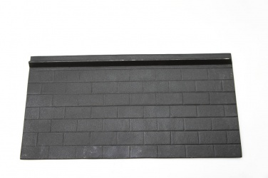 Small Modifiable Cast Iron Stove Rear Lining Panel - 400 x 200mm approx (suits Best Fire, Warm King, King Fire Stoves)