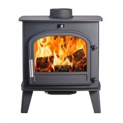 Norreskoven Traditional, Single Door Wood Burning Stove - 4.6kw nominal, (4 - 6kw output to room)