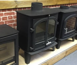 Cleanburn Sonderskoven Traditional Multi Fuel Stove, Double Door - 7-10kw - SALE - BRAND NEW, BOXED