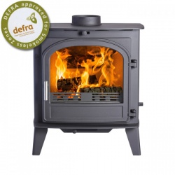 Cleanburn Sonderskoven Traditional Multi Fuel Stove, SINGLE Door - 7-10kw - SALE - BRAND NEW, BOXED