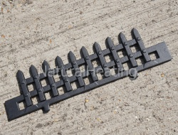 Cast Iron Log / Fuel Retaining Bar / Fence - Windsor / Christchurch ST244 Stove Part