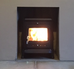 Trilby RF Cast Iron Multi Fuel and Wood Burning Stove - 7.5kw max (3 > 6kw to room) - SALE STOCK