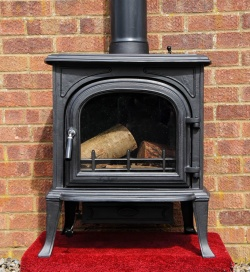 Westwood Multi Fuel and Wood Burning Cast Iron Stove - 14kw max (7 > 12kw to room)
