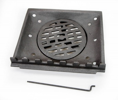 Replacement Complete Coal Grate (Inner and Outer) - fits Trilby / Fedora / Butley / Lark Stoves ST0406