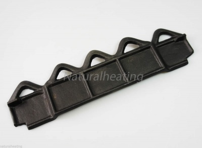 Cast Iron Wood / Log Retaining Bar / Fence - for TRILBY / Fedora / Butley / Lark ST0406 Multi Fuel Stove Spares