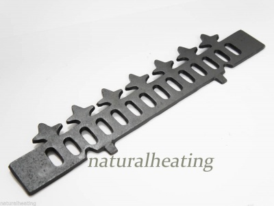Cast Iron Wood / Log Retaining Bar / Fence - Victorianna / Kensington Multi Fuel Stove Spares ST1050