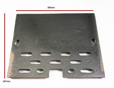 Replacement Cast Iron Side Lining Panel - Windsor, Windsor Double Sided, Christchurch, Evergreen ST244